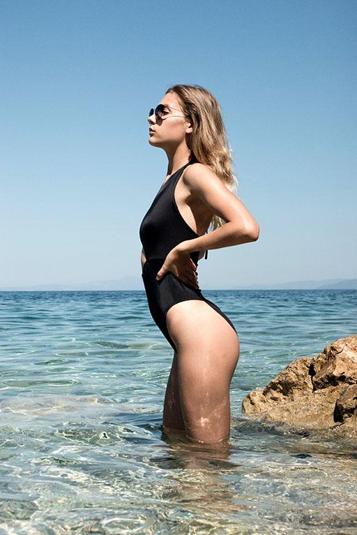 ideas para trajes de baño en la playa