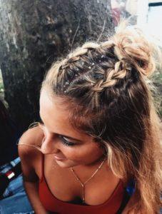 Peinado trenzas para cabello corto