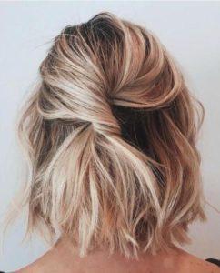 Pinado para cabello corto