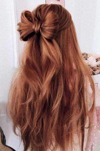 moño-facil-cabello-largo-peinado