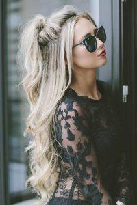 peinado-medio-recogido-largo-suelto-casual
