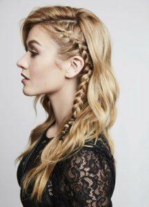 Peinados fáciles para cabello largo en la playa